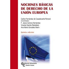 Nociones básicas de Derecho de la Unión Europea 2021