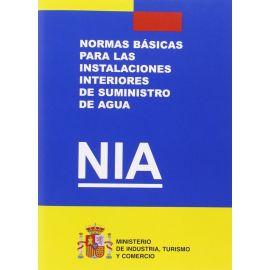 Normas Básicas para las Instalaciones Inteiores de Suministro de Agua. NIA