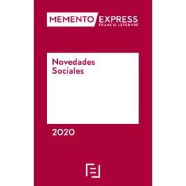 Novedades sociales 2020