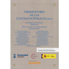 E-book Observatorio de los Contratos Públicos 2017