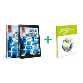 Pack Fundamentos de dirección estratégica de la empresa + Casos de dirección estratégica de la empresa 2020