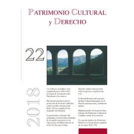 Patrimonio Cultural y Derecho. Número 22. 2018