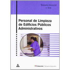 Personal de Limpieza de Edificios Públicos Administrativos. Temario General y Test