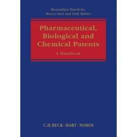 Pharmaceutical, Biological and Chemical Patents. A Handbook