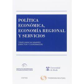 Política Económica, Economía Regional y Servicios