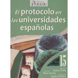 Protocolo en las Universidades Españolas
