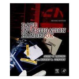 Rape Investigation Handbook. Manual de Investigación Sobre Violación.