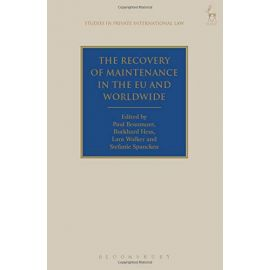 Recovery of Maintenance in the EU and Worldwide