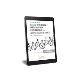 Ebook Registro de la Jornada y problemas en la determinación de la jornada efectiva de trabajo