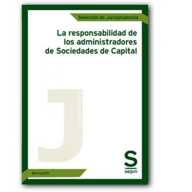 Responsabilidad de los administradores de Sociedades de Capital