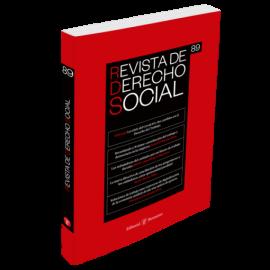 Revista de Derecho Social, 89. Enero-Marzo 2020