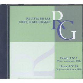 Revista de las Cortes Generales Números del 1 al 89 DVD