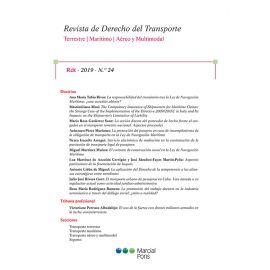 Revista de Derecho del Transporte, nº 24, año 2020