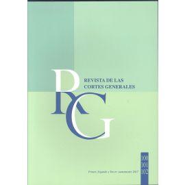 Revista de las Cortes Generales 2017 Números: 100-101-102 con Cd-Rom