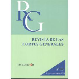 Revista de las Cortes Generales Nº 103 ( 2018 )                                                      1ª cuatrimestre