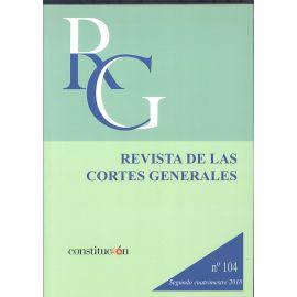 Revista de las Cortes Generales Nº 104 ( 2018 )                                                      2ª cuatrimestre