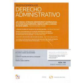 Revista Española de Derecho Administrativo 2020 7 núms. año (4 doctrinales+3 crónicas jurisp.)