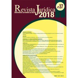 Revista Jurídica de la Universidad Autónoma de Madrid. Número 37. 2018 Papel