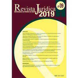 Revista Jurídica de la Universidad Autónoma 2019. Nº 39 y 40 Papel+Online