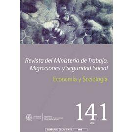 Revista del Ministerio de Trabajo, Migraciones y Seguridad Social Nº 141