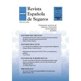 Revista Española de Seguros, Nº 179, Julio-Septiembre 2019
