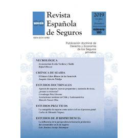 Revista Española de Seguros, Nº 180. Octubre-Diciembre 2019