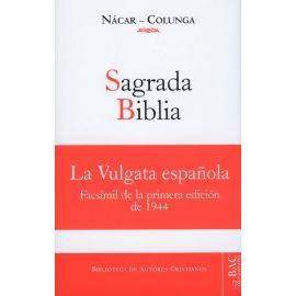 Sagrada Biblia.                                                                                      Facsimíl de la Primera Edición de 1944