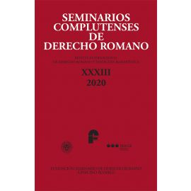 Seminarios complutenses de derecho romano XXXIII 2020