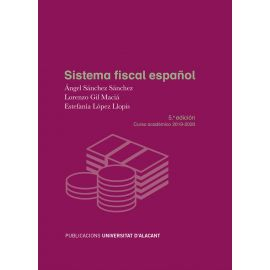 Sistema fiscal español. Curso académico 2019-2020