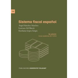 Sistema Fiscal Español. Curso Académico 2017-2018