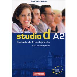 Studio d A2. Deutsch als Fremdsprache. Kurs- und Ubungsbuch.