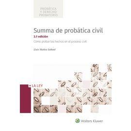 Summa de Probática Civil 2018 Cómo Probar los Hechos en el Proceso Civil