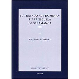 """Tratado de """"Dominio"""" en la Escuela de Salamanca III"""