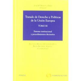 Tratado de Derecho y Políticas de la Unión Europea, Tomo III