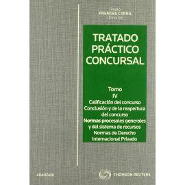 Tratado Práctico Concursal. 4 Tomos. Con CD.