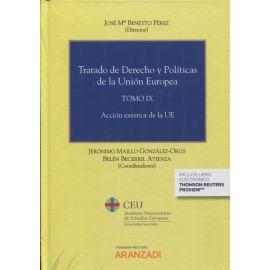 Tratado de Derecho y Políticas de la Unión Europea, Tomo IX. Acción Exterior de la UE