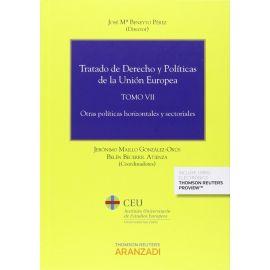 Tratado de Derecho y Políticas de la Unión Europea, Tomo VII                                         Otras Políticas Horizontales y Sectoriales
