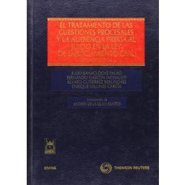Tratamiento de las Cuestiones Procesales y la Audiencia previa al Juicio en la Ley de Enjuiciamiento Civil