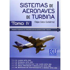 Sistemas de Aeronaves de Turbina, IV