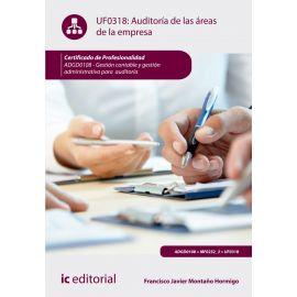 Auditoría de la Áreas de la Empresa UF0318