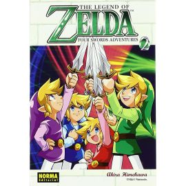 The Legend of Zelda 9. Four Swords Adventures 2