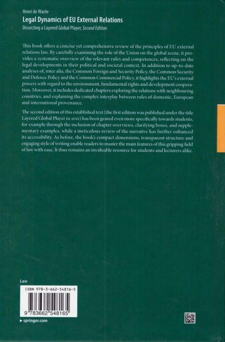 Layered Global Player: Legal Dynamics of EU External Relations