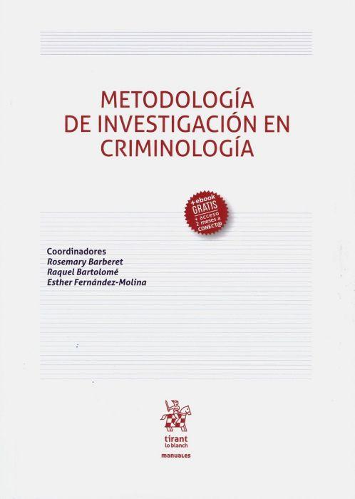 Metodología de la investigación en criminología