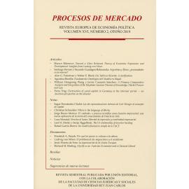Procesos de mercado Vol. 16/02 Otoño 2019