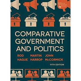 Comparative Government and Politics. An Introduction