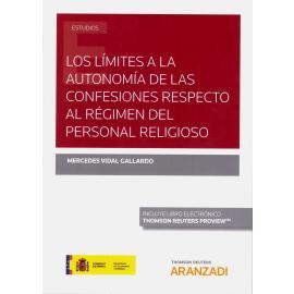 Los límites a la autonomía de las confesiones respecto al régimen del personal religioso