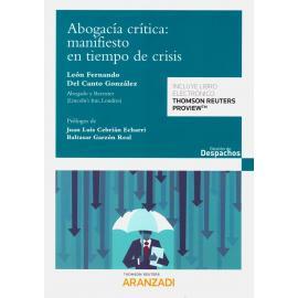 Abogacía crítica: manifiesto en tiempo de crisis