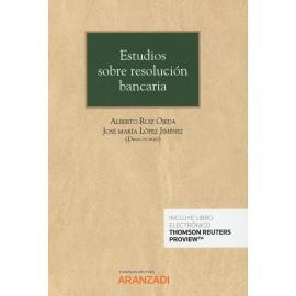 Estudios sobre resolución bancaria