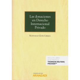 Donaciones en derecho internacional privado