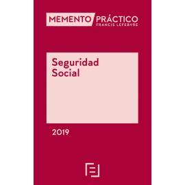 Memento Seguridad Social 2019                                                                        FECHA DE PUBLICACIÓN 30 DE ABRIL 2019